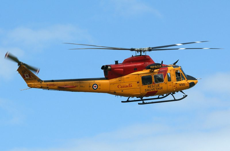 Yellow Search and Rescue Chopper
