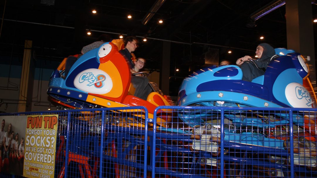 Fun Haven and Air Cadets - Roller Coaster
