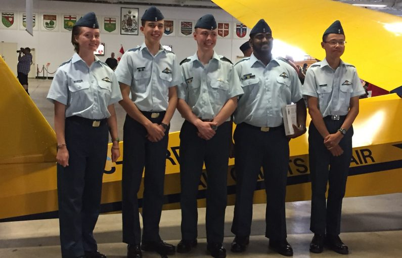 New Pilots From 211 Squadron Graduating From St Jean Cadet Flying Training Centre